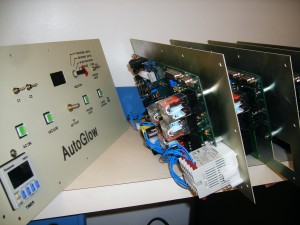 All systems are modular for easy assembly and repair. AutoGlow Control Board.