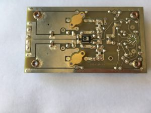 backside of RF Amp Board